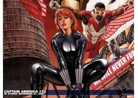 漫画壁纸,船长,美国,黑色,寡妇,壁纸(1)