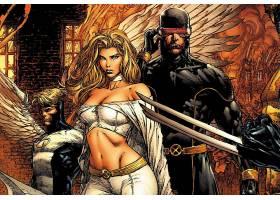 漫画壁纸,x战警,超级英雄,独眼巨人,女子名,严寒,金刚狼,壁纸