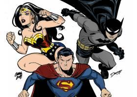 漫画壁纸,哥伦比亚特区,三位一体,奇迹,妇女,超人,勤务兵,壁纸