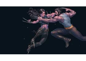 漫画壁纸,x战警,金刚狼,X-23,壁纸(1)
