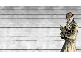 漫画壁纸,看守员,罗夏,壁纸(8)