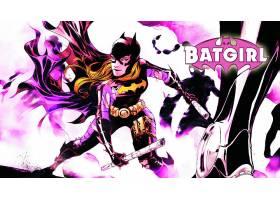 漫画壁纸,蝙蝠女侠,壁纸(29)