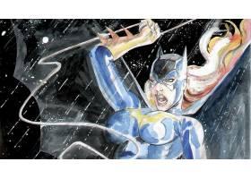 漫画壁纸,蝙蝠女侠,壁纸(7)