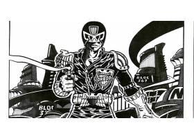 漫画壁纸,2000,广告,法官,Dredd,Dredd,壁纸(2)