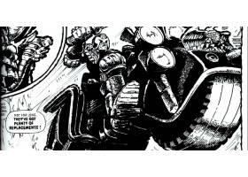 漫画壁纸,2000,广告,法官,Dredd,Dredd,壁纸(3)