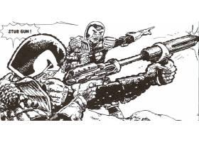 漫画壁纸,2000,广告,法官,Dredd,Dredd,壁纸(4)