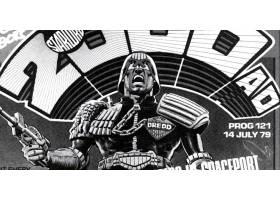 漫画壁纸,2000,广告,法官,Dredd,Dredd,壁纸(5)