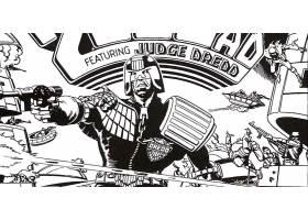 漫画壁纸,2000,广告,法官,Dredd,Dredd,壁纸
