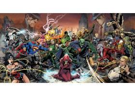 漫画壁纸,三位一体,战争,奇迹,妇女,超人,绿色的,箭,Aquaman,壁纸