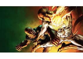 漫画壁纸,力量,男人,和,熨斗,拳头,壁纸