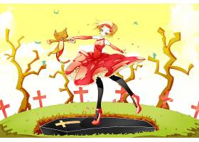 漫画壁纸,Lenore,这,漂亮的,小的,死亡的,女孩,壁纸