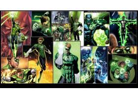 漫画壁纸,绿色的,灯笼,壁纸(34)