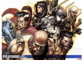 漫画壁纸,新建,复仇者联盟,这,复仇者联盟,恶意,金刚狼,医生,奇怪