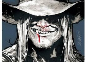 漫画壁纸,美国的,吸血鬼,壁纸(3)
