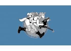 漫画壁纸,坦克,女孩,壁纸(8)