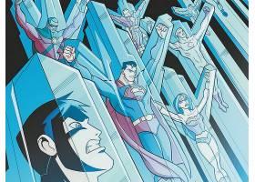 漫画壁纸,年轻的,公正,超人,奇迹,妇女,壁纸图片