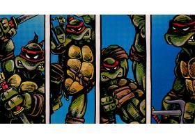 漫画壁纸,TMNT,拉斐尔,壁纸(2)