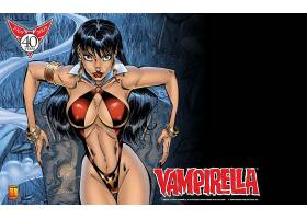 漫画壁纸,Vampirella,壁纸(1)