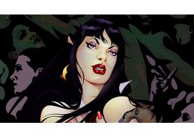漫画壁纸,Vampirella,壁纸(10)