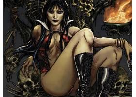 漫画壁纸,Vampirella,壁纸(22)