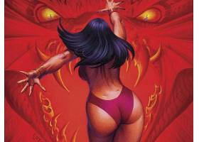 漫画壁纸,Vampirella,壁纸(29)