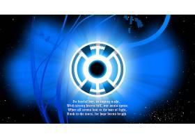 漫画壁纸,蓝色,灯笼,军团,蓝色,灯笼,壁纸(1)