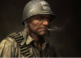 漫画壁纸,我们的,军队,在,战争,壁纸