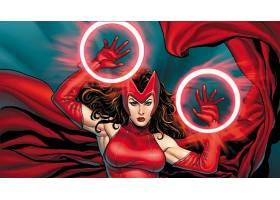 漫画壁纸,终极目标,红衣,女巫,壁纸