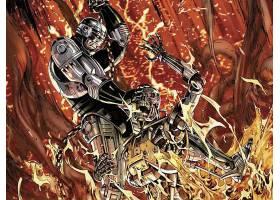 漫画壁纸,终结者,Robocop,机器战警,壁纸(1)