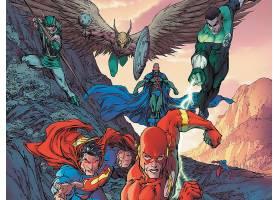 漫画壁纸,闪光,超人,绿色的,灯笼,霍克曼,壁纸