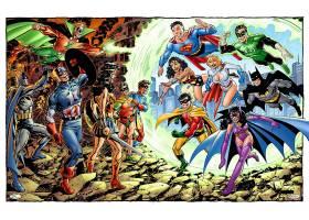 漫画壁纸,拼贴,勤务兵,船长,美国,奇迹,妇女,知更鸟,超人,力量,女