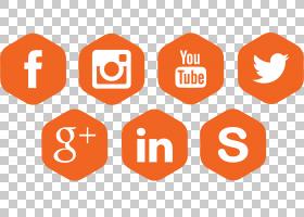 社交媒体计算机图标社交网络,社交图标PNG剪贴画计算机网络,文本,