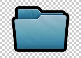 电蓝色aqua,文件夹Mac,蓝色文件夹PNG剪贴画蓝色,矩形,共享,电动