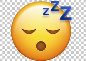 表情符号域iPhone,睡眠PNG剪贴画脸,笑脸,睡眠,桌面壁纸,图释,表