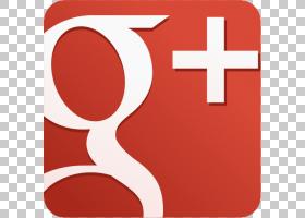 社交媒体Google+社交网络服务,Icon Google Plus Logo PNG剪贴画