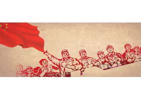 国旗工农民图片背景
