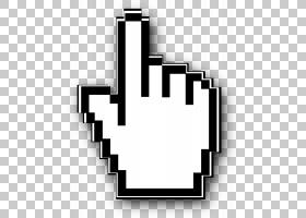 指针光标计算机鼠标按钮图标,鼠标光标,像素化鼠标箭头screensoht
