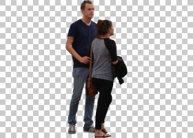 Adobe Photoshop Elements渲染,s人图标,男人站在女人PNG剪贴画旁