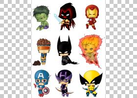 Flash蜘蛛侠美国队长赤壁奇迹漫画,人类火炬PNG剪贴画复仇者,超级