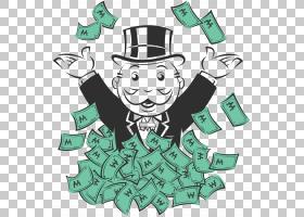 Rich Uncle Pennybags Monopoly City T,衬衫Money bag,jail,Mono