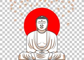 乔达摩佛天坛佛金佛Buddharupa,手,画佛PNG剪贴画水彩绘画,脸,文