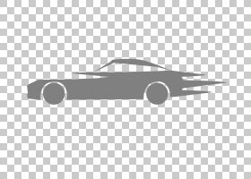 黑色Logo品牌图案,跑车车线框PNG剪贴画框架,角度,白色,金色框架,图片
