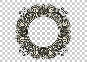 阿凡达图标,复古黑色线条图案PNG剪贴画杂项,复古,矩形,对称,几何