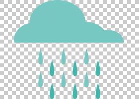 雨云天气,阴雨天气预报PNG剪贴画蓝色,文本,云,天气预测,蓝绿色,