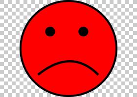 面部表情笑脸图释,错误的PNG剪贴画人,悲伤,地区,微笑,红色,点,嘴