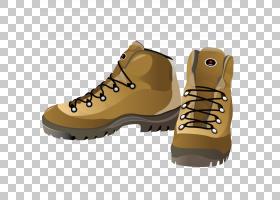 鞋服靴,时尚马丁靴PNG剪贴画棕色,时尚女孩,配件,户外鞋,时尚图标