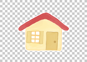 黄色,家庭,白色和红色房子PNG剪贴画建筑,akisame,艺术作品,歌曲,