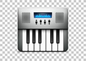 乐器输入设备电子乐器电子设备,音频MIDI设置,灰色电子键盘PNG剪图片