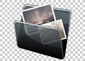小工具多媒体电子产品,惠普的文件夹,黑色和灰色翻盖案例PNG剪贴