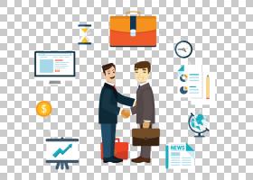 Dongtai Business Handshake,商务人士PNG剪贴画业务女人,文本,人